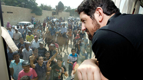 Wade Barrett wallpaper titled WWE Worldwide 2012 - Egypt