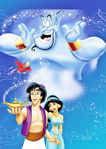 Walt Disney Posters - Aladdin và cây đèn thần