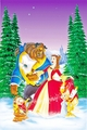 Walt Disney Posters - Beauty and the Beast: The Enchanted Christmas