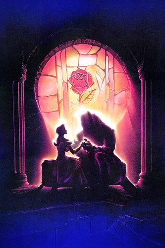 Walt ডিজনি Posters - Beauty and the Beast