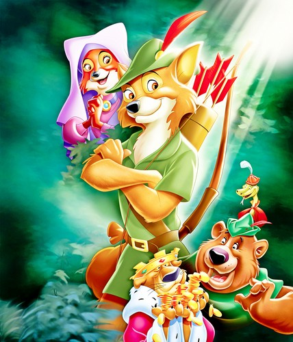 Walt Disney Characters wallpaper probably with anime called Walt Disney Posters - Robin Hood