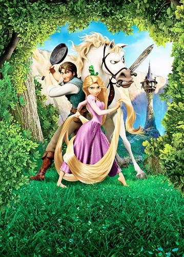 Walt Disney Posters - Công chúa tóc mây