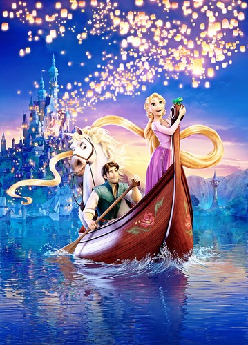 Walt Disney Characters wallpaper entitled Walt Disney Posters - Tangled