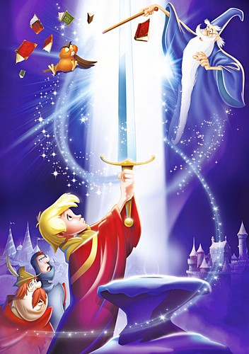Walt Дисней Posters - The Sword in the Stone