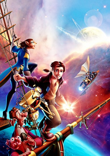 Walt Disney Posters - Treasure Planet