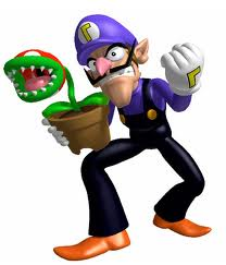 Super Mario Bros. wallpaper titled Waluigi