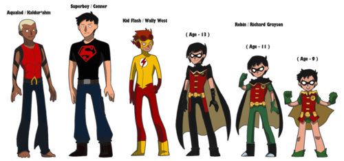 Young Justice wallpaper entitled We'll thats Cute <3