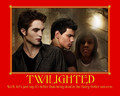 Well, let's just say... - harry-potter-vs-twilight fan art
