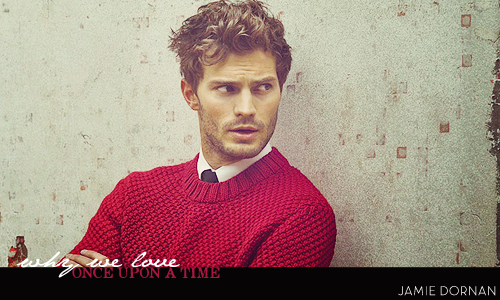 # Marcus A. Williams // Why-We-Love-OUAT-Jamie-Dornan-sheriff-graham-the-huntsman-32516584-500-300