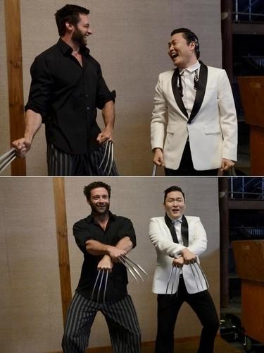 Wolverine Style (Hugh Jackman & Psy)