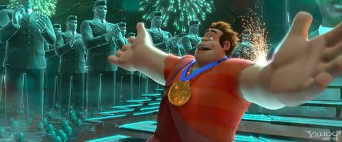 Wreck-It-Ralph get a medal