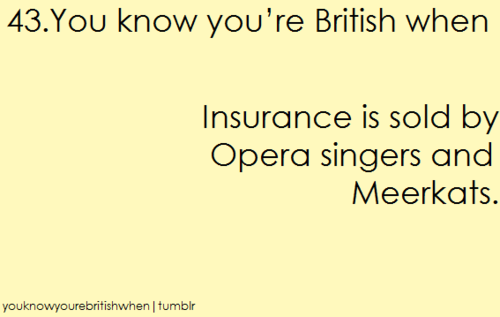 آپ know your british when ...