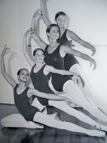 Young Tatiana in Ballet Class