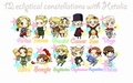 Zodiac Hetalia Style - heartfulstitch photo