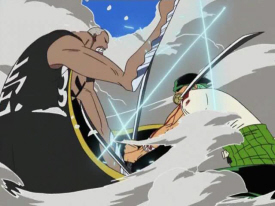 Zoro and Number 1.