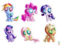 excessively Chibi ponies