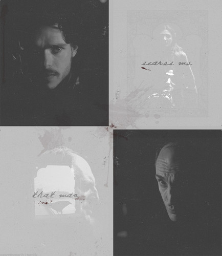Roose, Catelyn & Robb