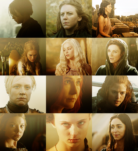 Ladies of Game of Thrones