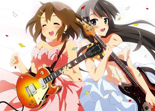 guitar anime girl