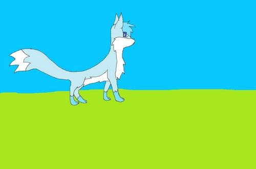 Make Your Own Warrior Cat! hình nền possibly containing anime called ice paw bức ảnh 2