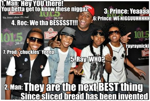 Mindless Behavior wallpaper probably containing a sign and anime called mb memes