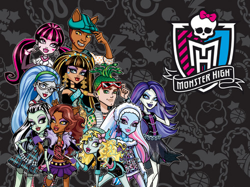 Monster High hình nền with anime called monster high