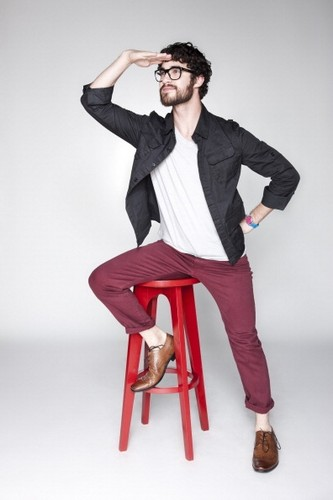 new outtakes of Darren from Comic Con shoot