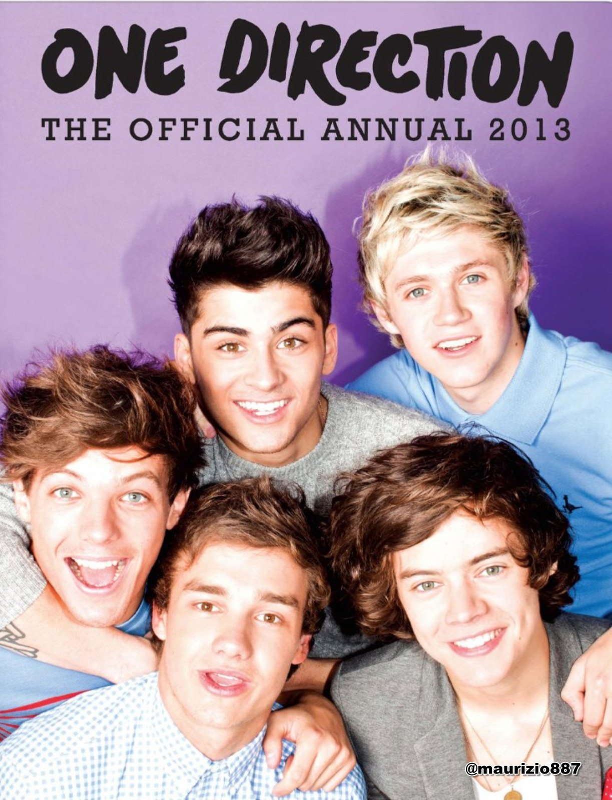 one direction,The Official Annual - 2012