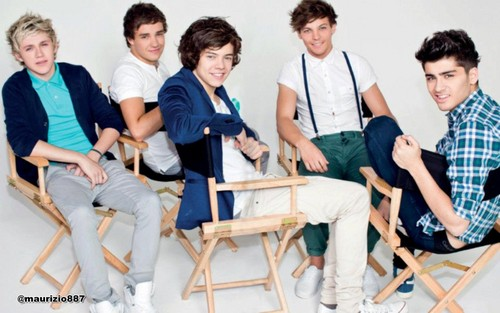 One Direction wallpaper called one direction, the official annual - 2012
