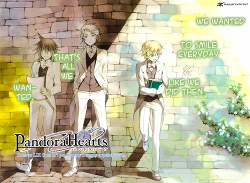 pandora hearts mangá cover could pull humpty dumpty