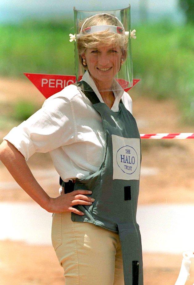 princess diana angola landmine
