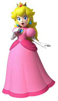 princess peach, pichi cute