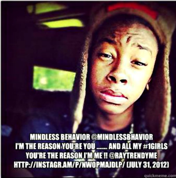Mindless Behavior Ray Ray 2014
