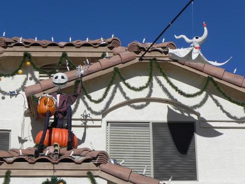 Disney wallpaper entitled sally, jack skellington, zero, jack and zero, nightmare before christmas, disneyland haunted mansion