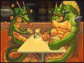 shenron & porunga - dragon-ball-z photo