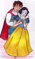 snow white - prince-and-snow-white fan art