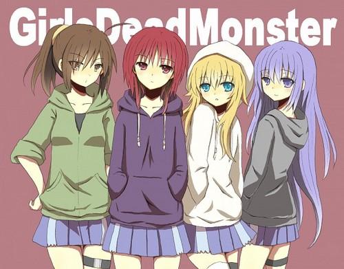 エンジェル Beats! Girls Dead Monster 壁紙 containing アニメ called ~Angel Beats!~ Girls Dead Monster- Casual Style!