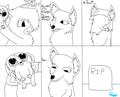(Asdf/Pom Oc picture 9) Kitten/Mort fight! - fans-of-pom photo