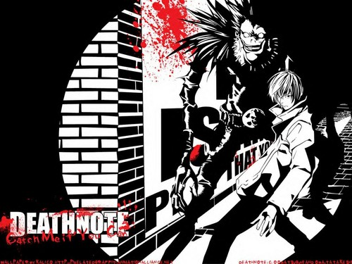 death note wallpaper containing anime titled Death Note