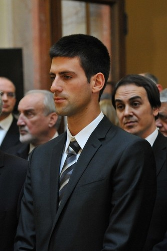 Novak Djokovic wallpaper containing a business suit, a suit, and a two piece entitled ~Novak~