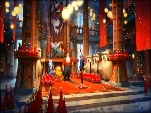 Rise of the Guardians wallpaper possibly with a throne entitled ★ Rise of the Guardians ☆