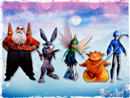 Rise of the Guardians wallpaper with anime entitled ★ Rise of the Guardians ☆