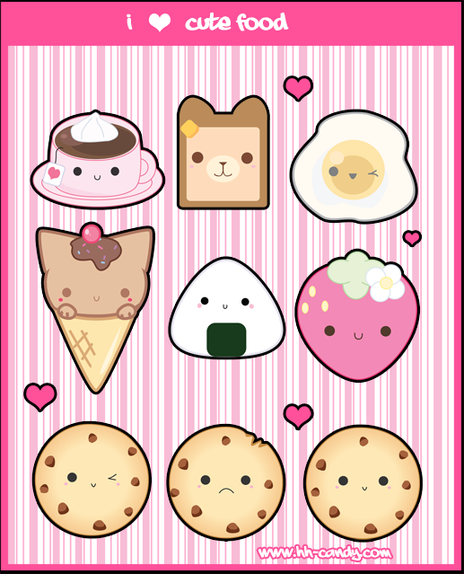 Kawaii food 3 photo 32643005 fanpop - Kawaii food wallpaper ...