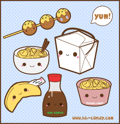 Kawaii Food :3 images §♥§ wallpaper and background photos ...
