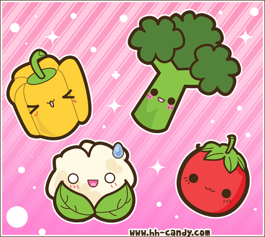 Kawaii Food 3 Images 167 167 Wallpaper And Background Photos