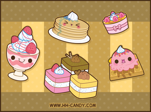 Kawaii food wallpaper gallery - Kawaii food wallpaper ...