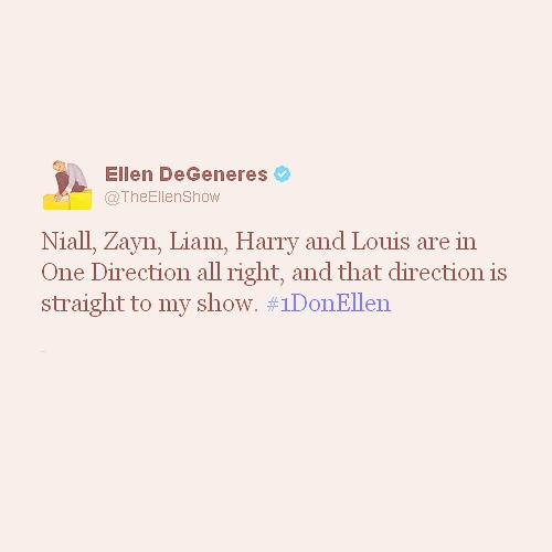 1D on Ellen