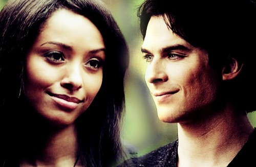 Damon & Bonnie wallpaper with a portrait called 4x04