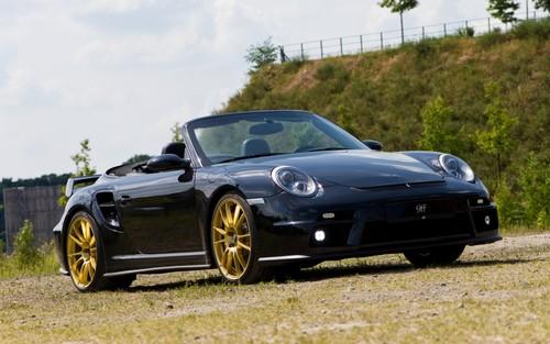 Porsche fond d'écran with a roadster called 9ff GTronic 1200 PORSCHE 911 997 TURBO CABRIOLET