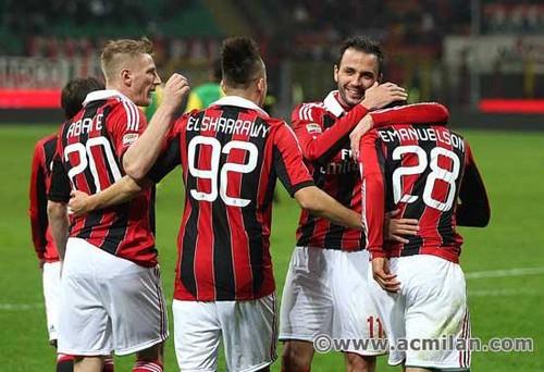 AC Milan VS Chievo Verona 5-1, Serie A TIM 2012/13
